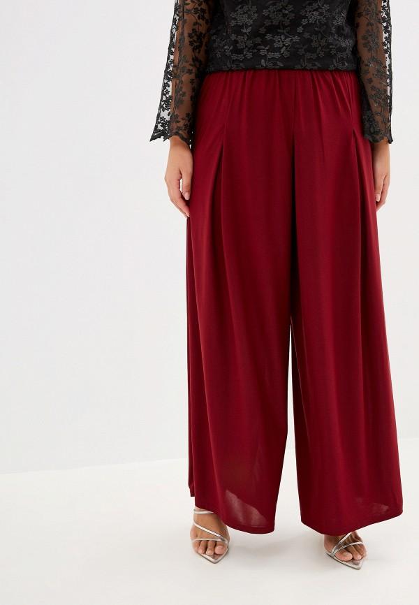 женские брюки blagof, бордовые