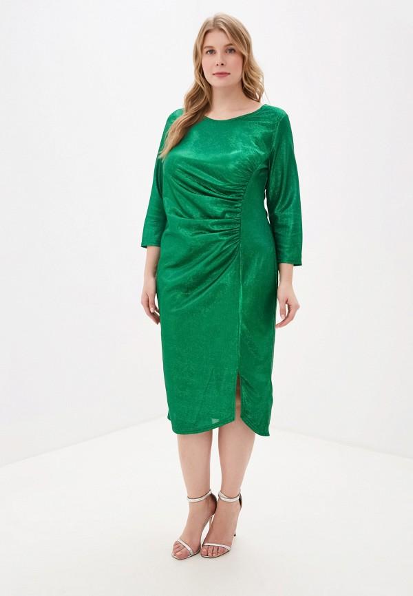 женское платье blagof, зеленое