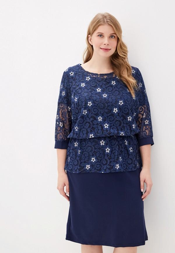 женское платье blagof, синее