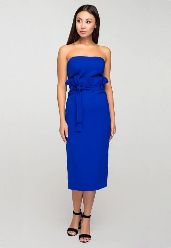 женское вечерние платье elena pokalitsina, синее