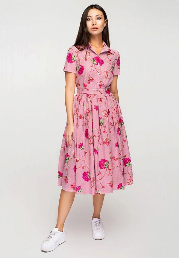 женское платье elena pokalitsina, розовое
