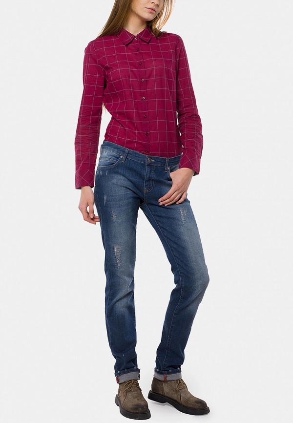 женские прямые джинсы mr520, синие