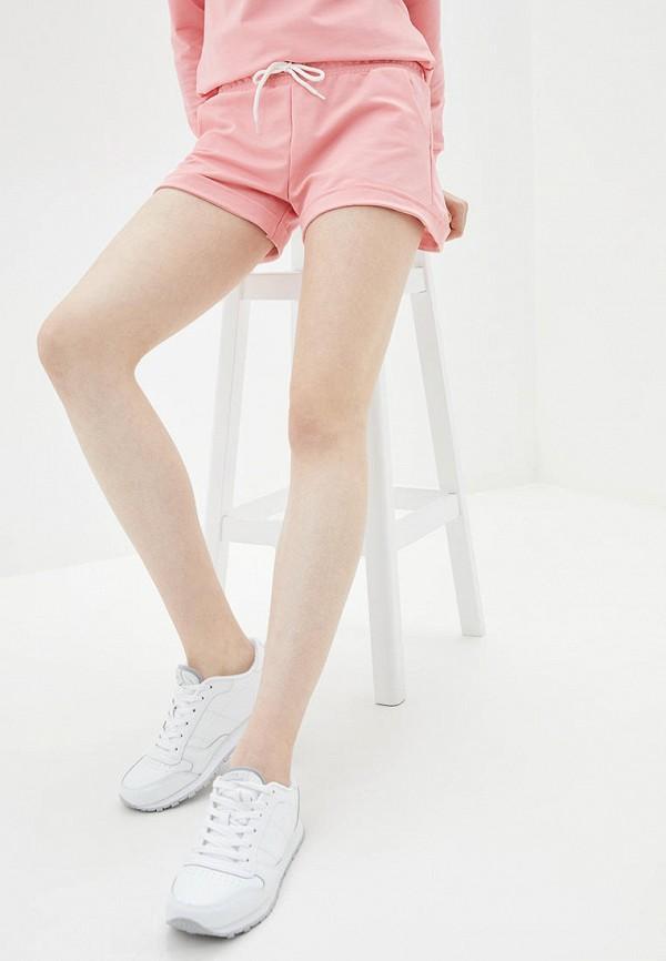 женские повседневные шорты hibrand, розовые