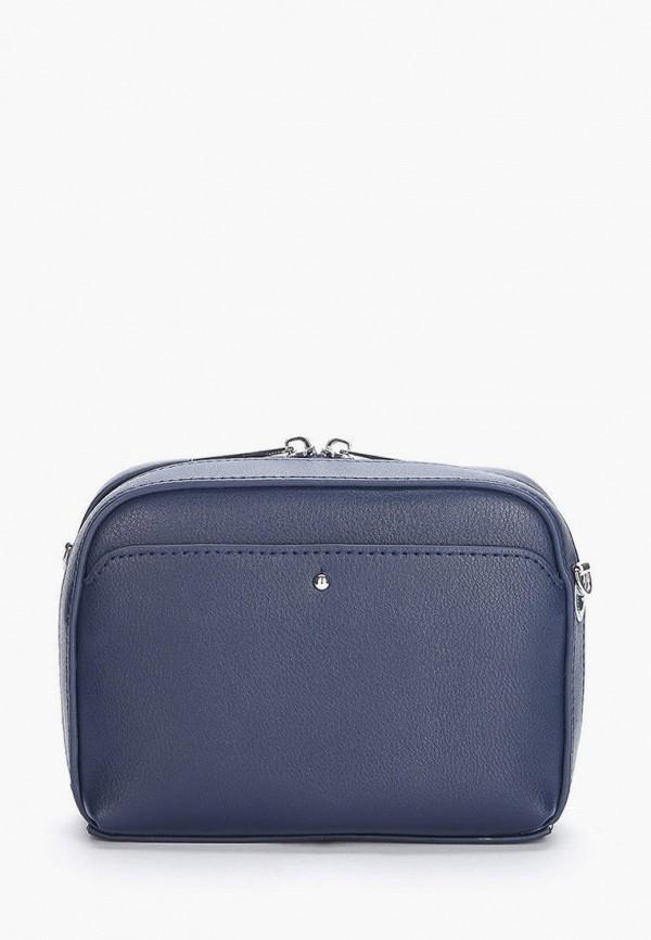 женская сумка через плечо jane's story, синяя