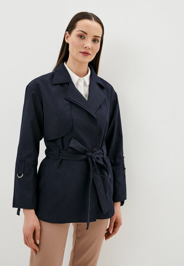 женская легкие куртка remix, синяя