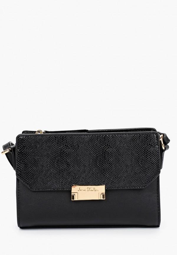 женская сумка через плечо jane shilton, черная