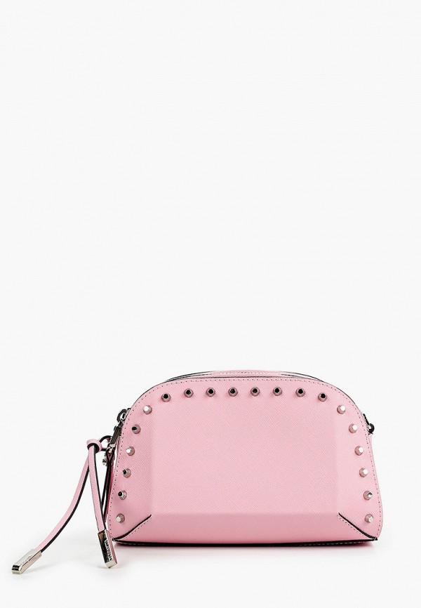 Фото - Сумку поясная Eleganzza розового цвета