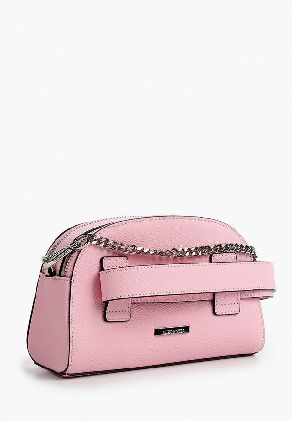 Фото 2 - Сумку поясная Eleganzza розового цвета