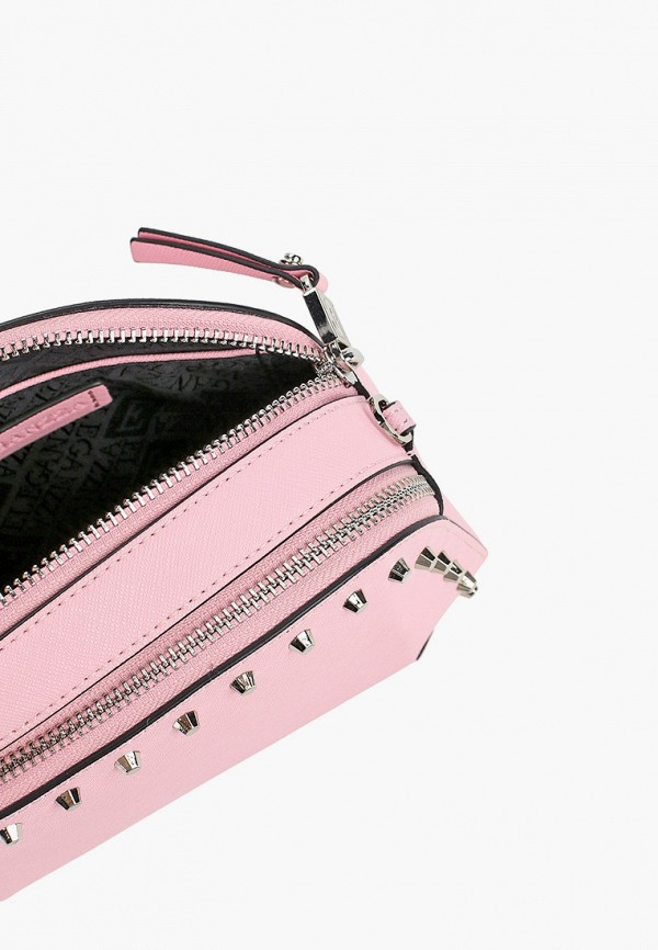 Фото 3 - Сумку поясная Eleganzza розового цвета