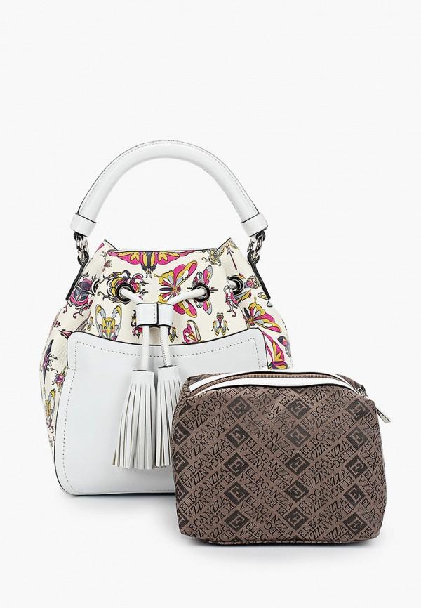 Фото - Женскую сумку Eleganzza белого цвета