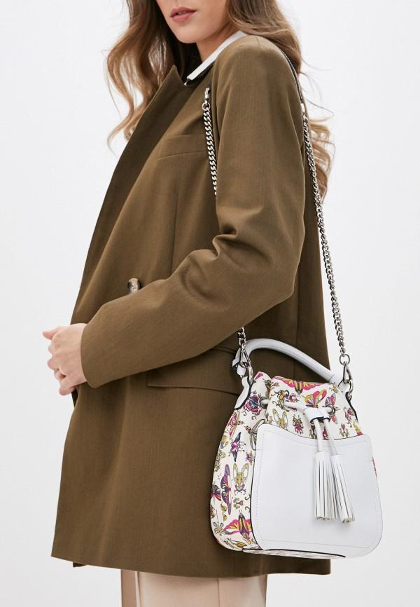 Фото 5 - Женскую сумку Eleganzza белого цвета