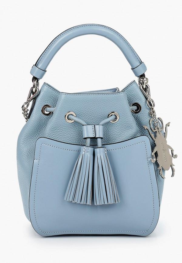 Фото - Женскую сумку Eleganzza голубого цвета
