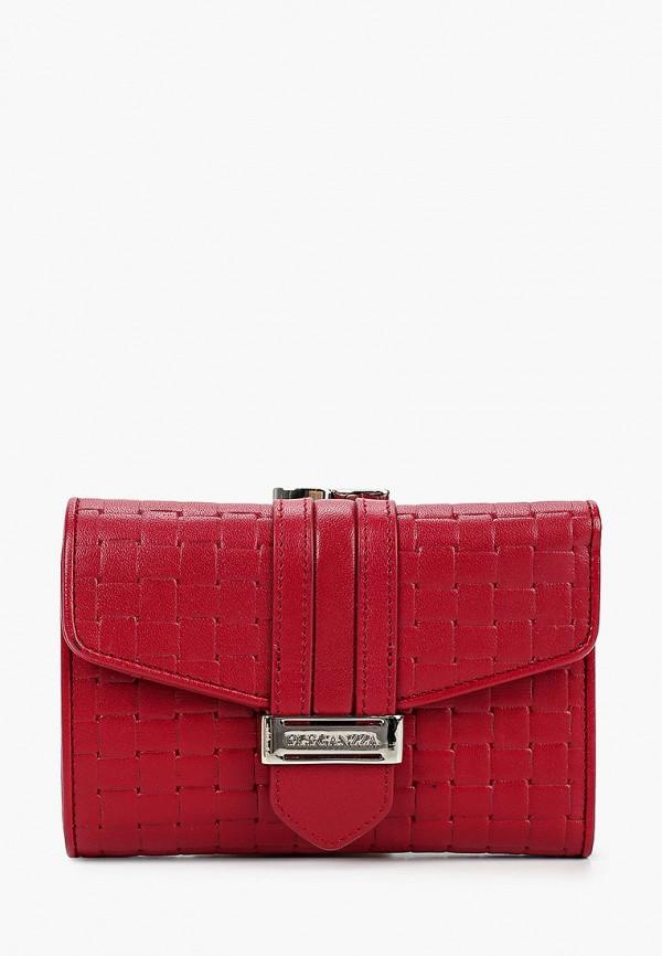 Фото - Женский кошелек или портмоне Eleganzza бордового цвета