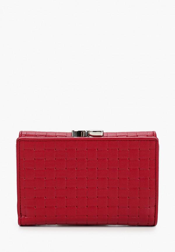Фото 2 - Женский кошелек или портмоне Eleganzza бордового цвета