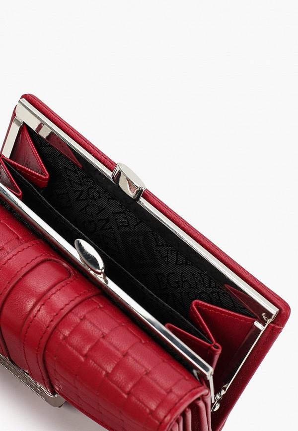 Фото 3 - Женский кошелек или портмоне Eleganzza бордового цвета