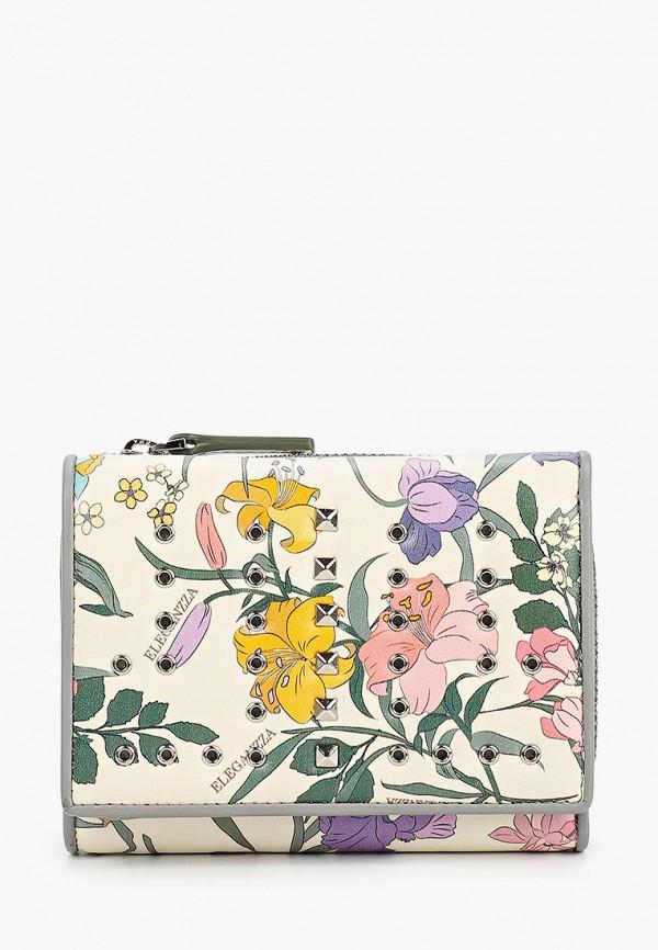 женский кошелёк eleganzza, белый