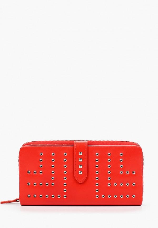 Фото - Женский кошелек или портмоне Eleganzza красного цвета