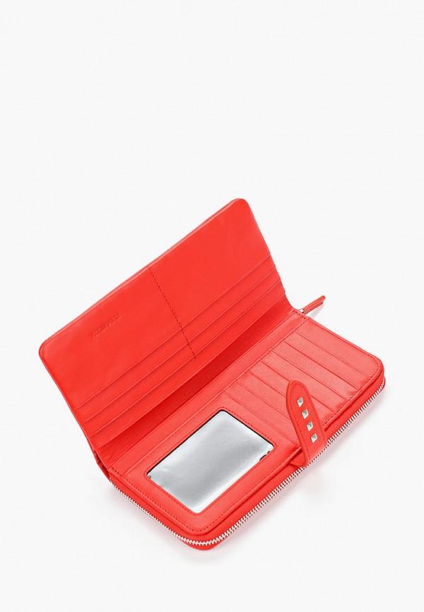 Фото 3 - Женский кошелек или портмоне Eleganzza красного цвета