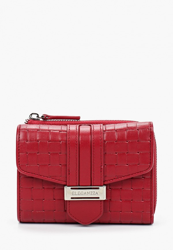 женский кошелёк eleganzza, бордовый