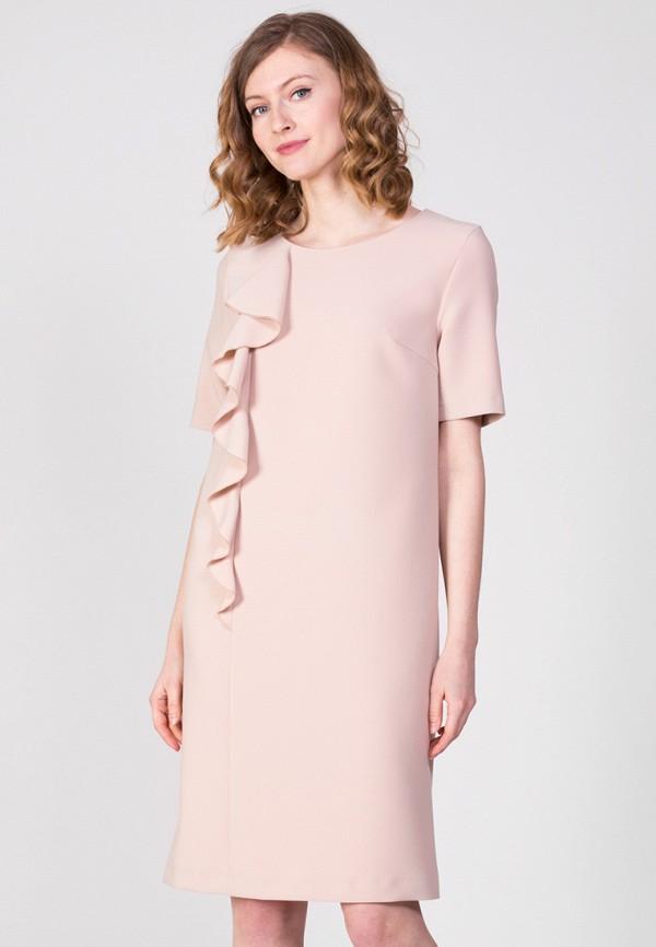 Фото - Женское платье Samos fashion group бежевого цвета
