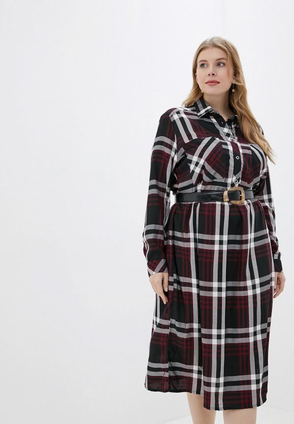Платье Averi Averi  бордовый фото