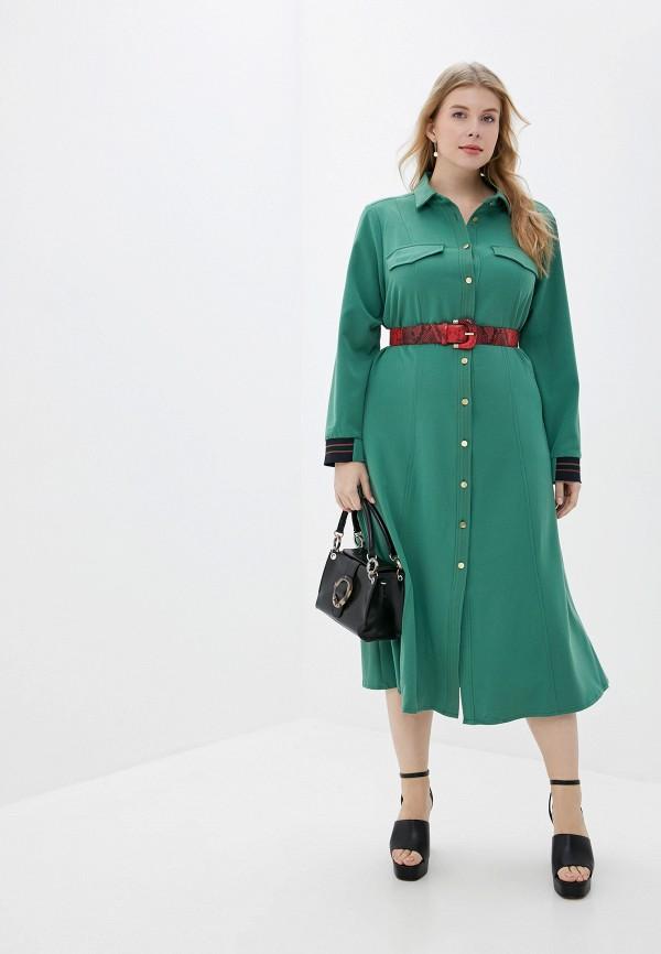 женское платье averi, зеленое