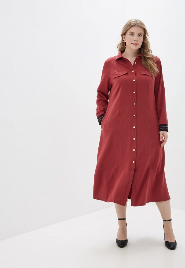 женское платье averi, красное
