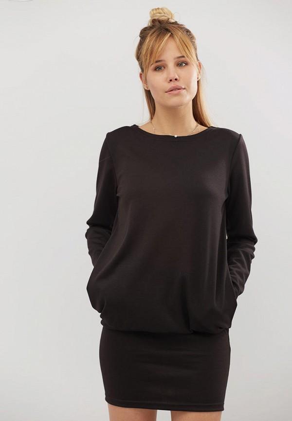женское платье criss, черное