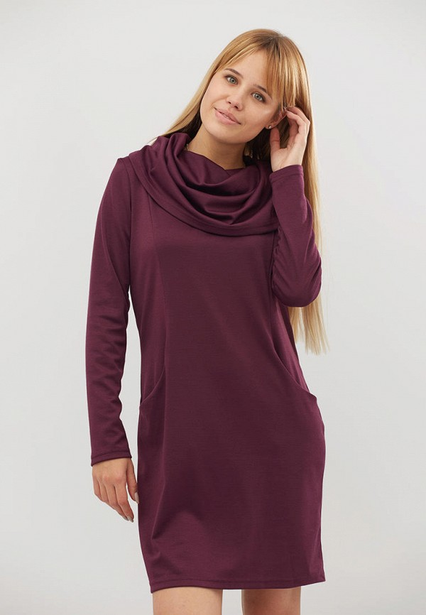 женское платье criss, фиолетовое