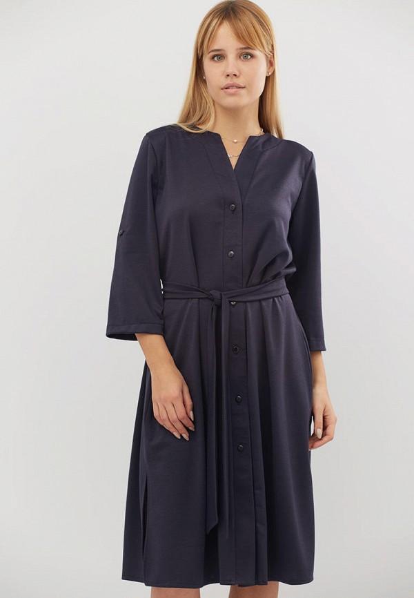 женское повседневные платье criss, синее