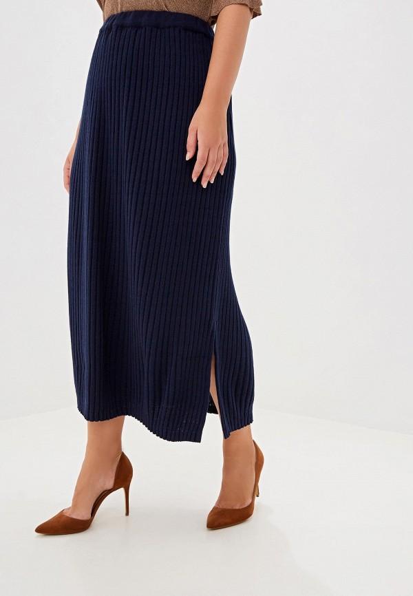 женская юбка артесса, синяя