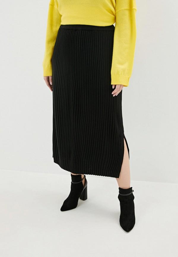 женская юбка артесса, черная