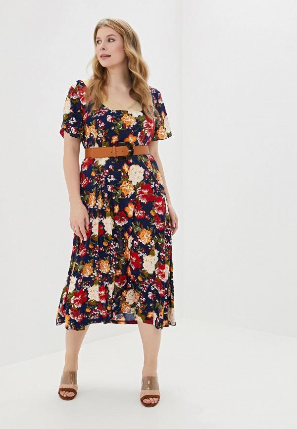 женское платье артесса, разноцветное