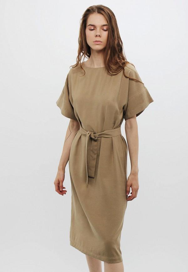 женское повседневные платье dasti, бежевое