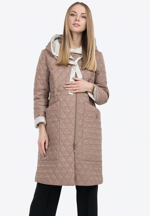 женская куртка modress, бежевая