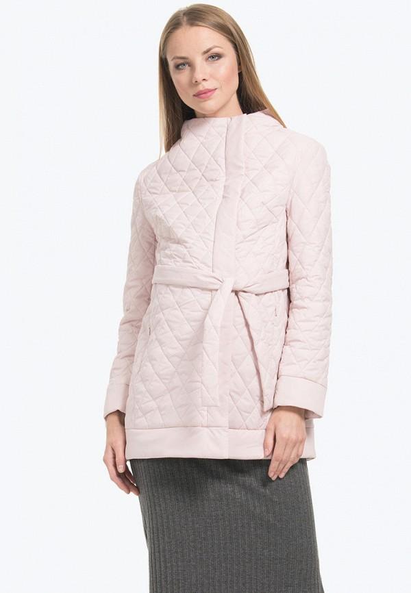 женская куртка modress, розовая