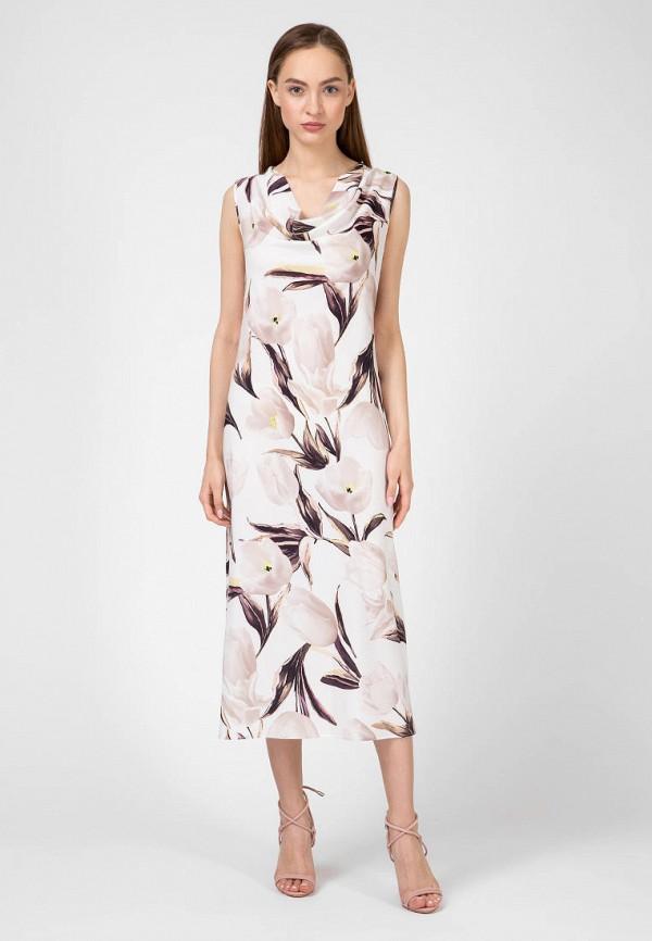 женское повседневные платье kano, белое
