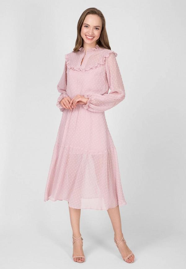 женское повседневные платье kano, розовое