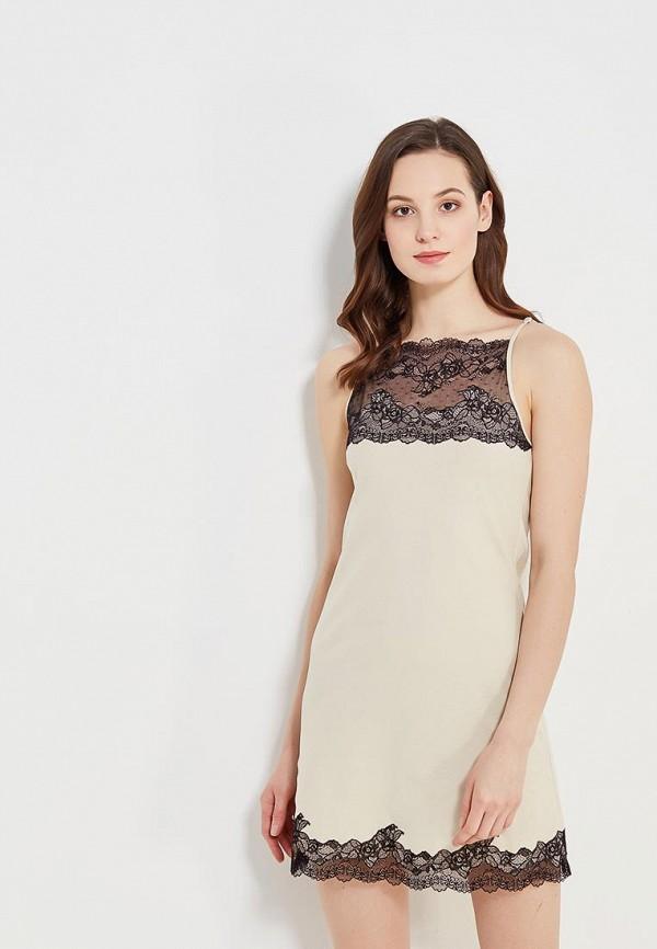 Купить Сорочка ночная D'amore, Portamento, MP002XW151G2, бежевый, Весна-лето 2018