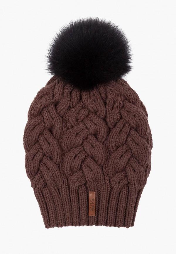 Купить Шапка Sava Mari, MP002XW151IT, коричневый, Осень-зима 2017/2018