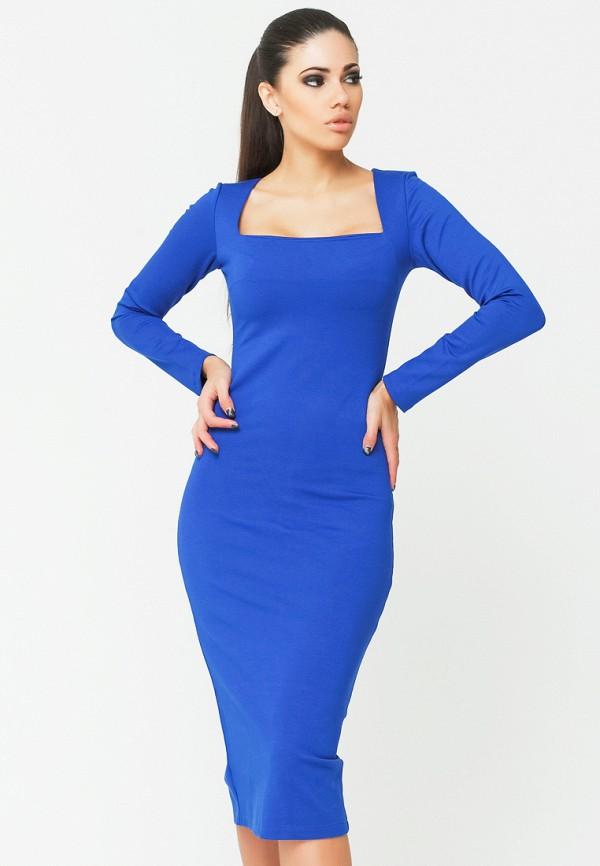 Купить Платье Malaeva, mp002xw151pt, синий, Весна-лето 2019