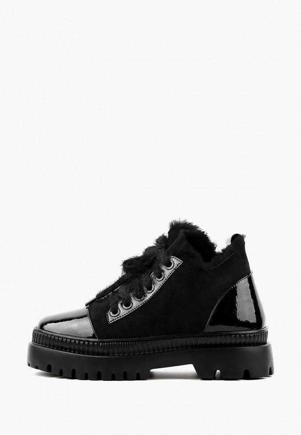 женские ботинки leberdes, черные