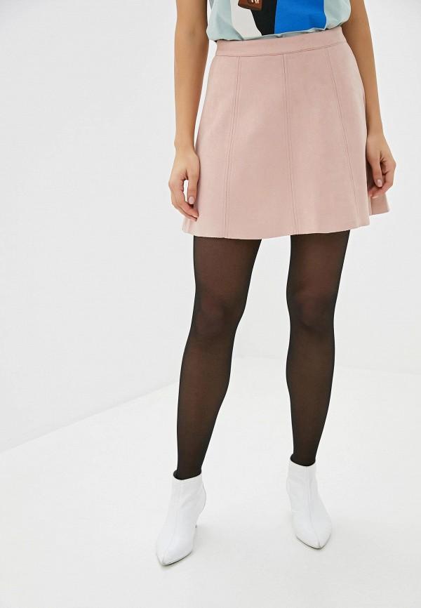 женская юбка befree, розовая