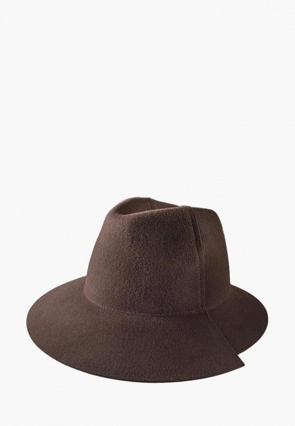 женская шляпа elegant, коричневая
