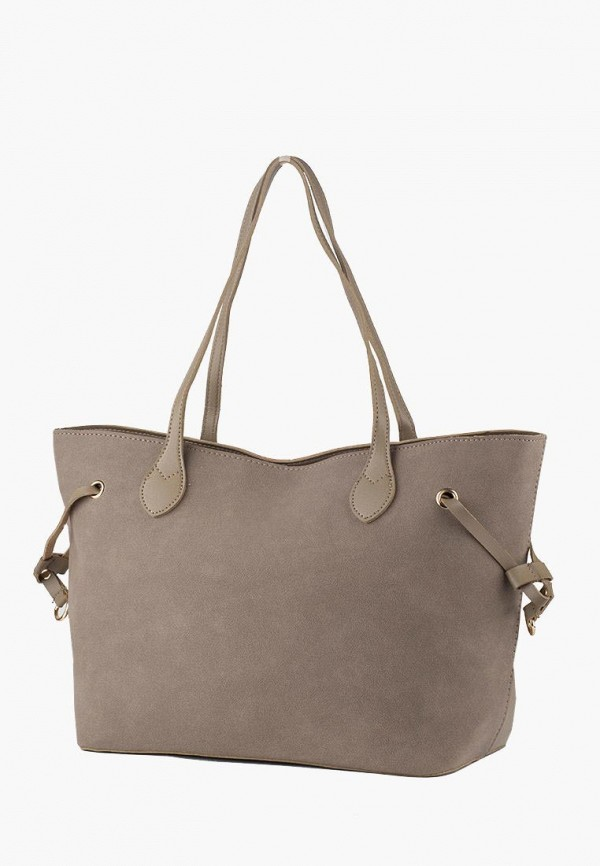 женская сумка-шоперы dda, серая
