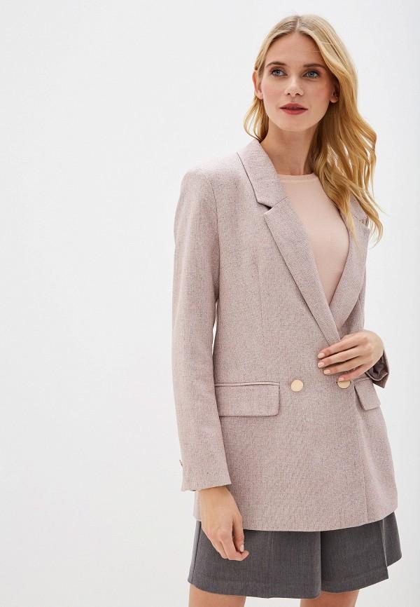 женский пиджак vittoria vicci, розовый