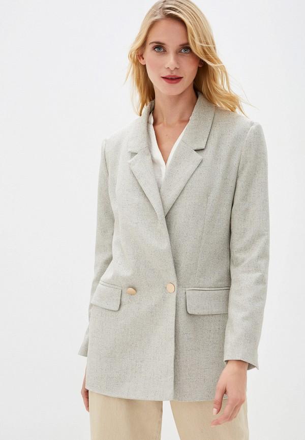 женский пиджак vittoria vicci, серый