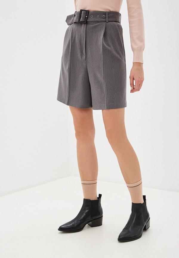 женские повседневные шорты vittoria vicci, серые