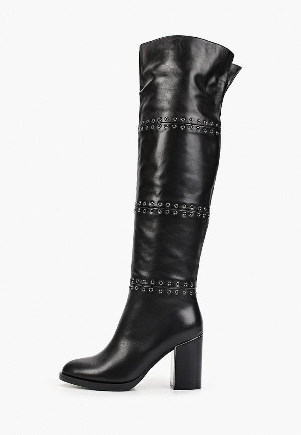 Купить Женские ботфорты Basconi черного цвета