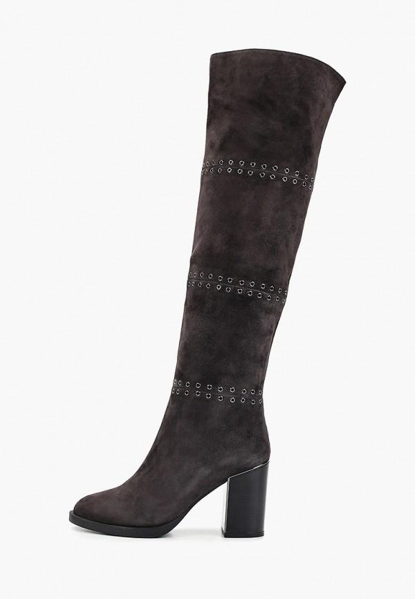 женские сапоги basconi, серые